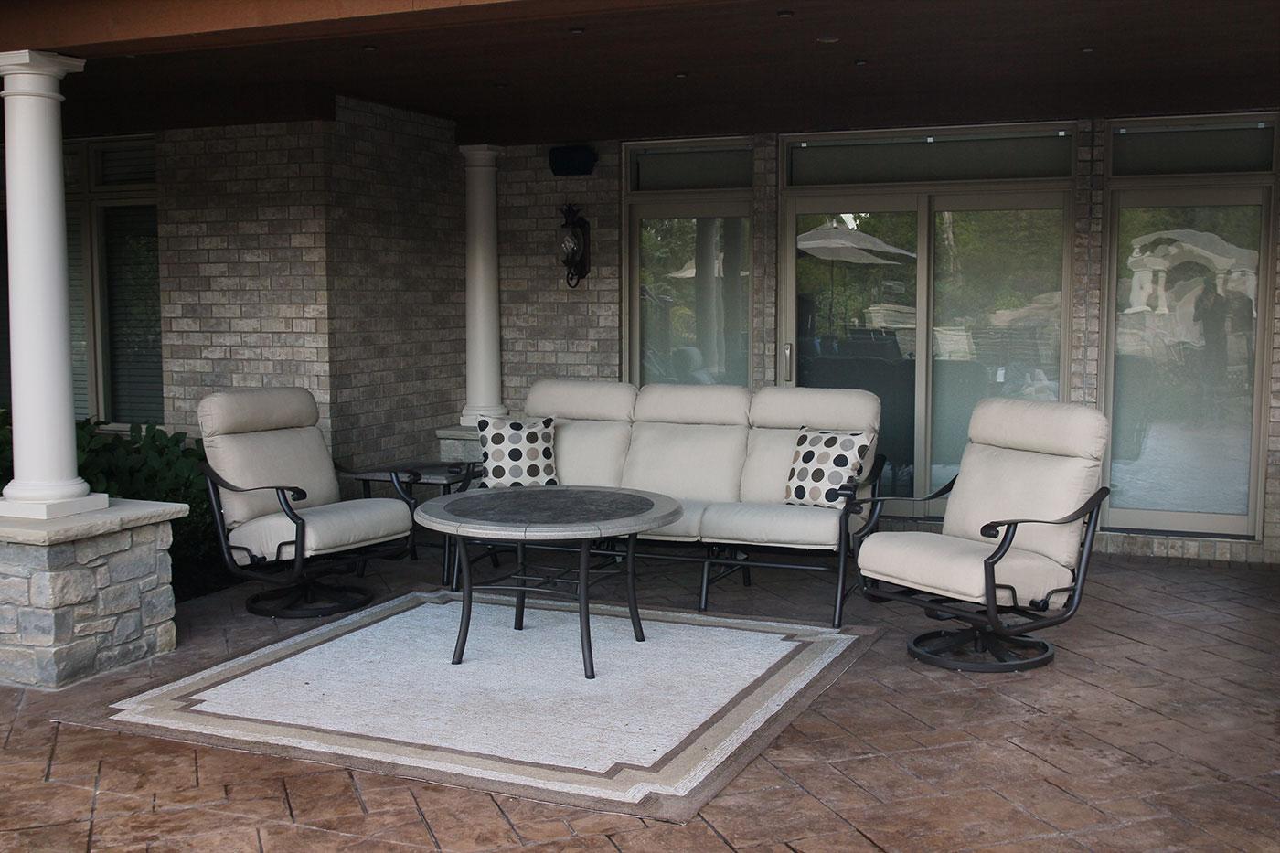 furniture stoll patio furniture stores in cleveland ohio cast aluminum