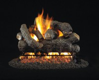 Royal English Designer Oak Vented Gas Logs