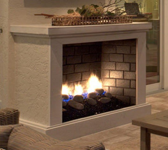 Vent Free Series Finished Fireplace (non-stock item / special order only)