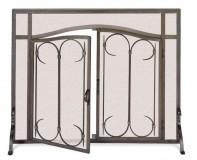 Iron Gate Screen with Doors