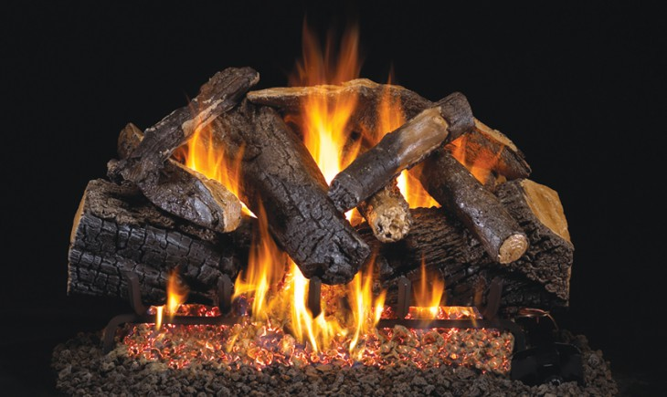 Charred Majestic Oak Vented Gas Logs