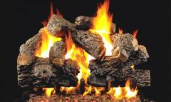 Charred Royal English Vented Gas Logs