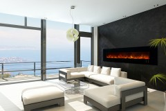 "CLX 2 Series 100"" Electric Fireplace"
