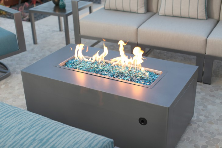 Forma Gas Fire Table