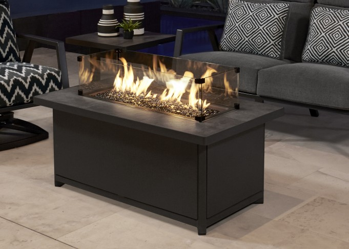 Metrop Gas Fire Table
